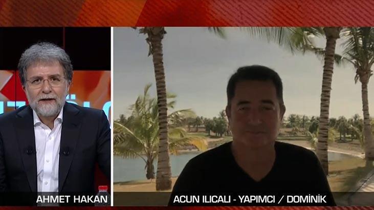 Acun Ilıcalı Dominikteki son durumu CNN Türkte anlattı