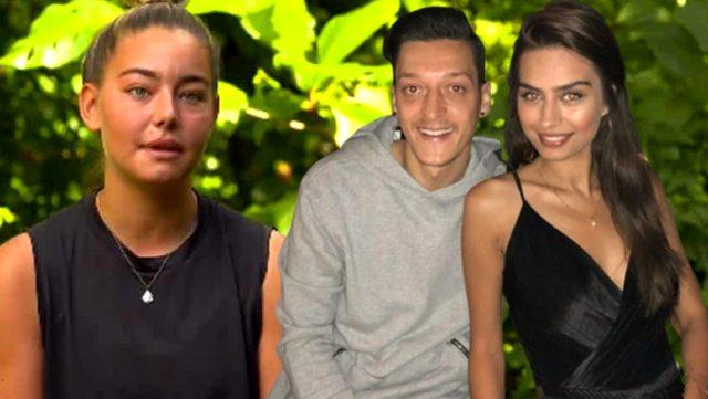 Mesut Özil ve Amine Gülşe'den Acun Ilıcalı aracılığıyla Sörvayvır Aycan'a destek mesajı