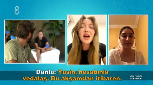 İletişim ödülünde Cemal Can ile konuşan Danla Bilic, kendisine laf atan Yasin'e sert çıktı: Hesabınla vedalaş