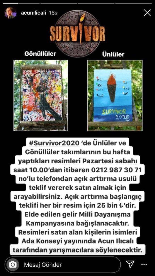 Sörvayvır'da çizilen tablolar açık arttırma ile satılacak! Elde edilen gelir Milli Mücadele Kampanyası'na bağışlanacak