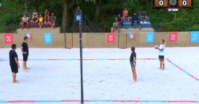 Sörvayvır 'da nefes kesen voleybol maçı! Maç sonrası Evrim ve Nisa büyük şok yaşadı!