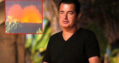 Sörvayvır'un çekimlerinin yapıldığı Dominik'te yangın çıktı