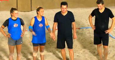 Voleybol maçını kaybeden Nisa ve Evrim, Acun Ilıcalı'nın yemek teklifini reddetti
