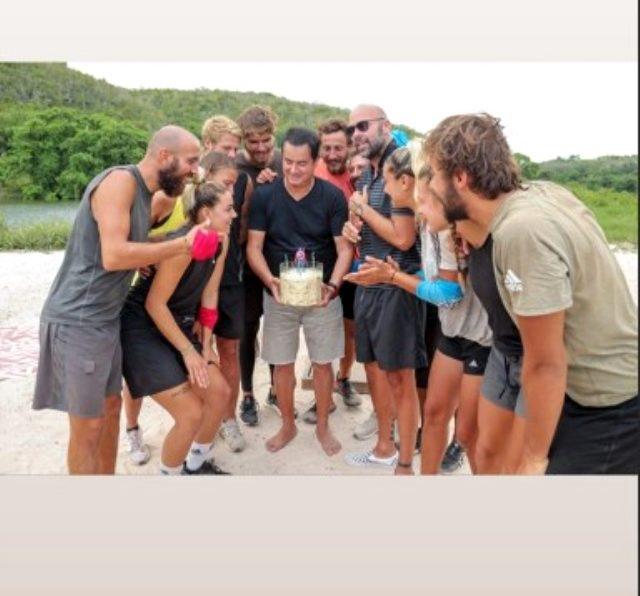 Esat Yontunç, 33 yıllık dostu Acun Ilıcalı'ya doğum günü sürprizi yaptı