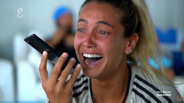 Sörvayvır'da iletişim ödülünü kazanarak aileleriyle konuşan yarışmacılar gözyaşlarına boğuldu