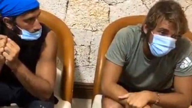 Aylardır Dominik'te olan Sörvayvır yarışmacıları ilk kez maske taktı! İlk tepki Cemal Can'dan geldi