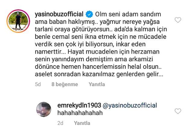 Nisa ile fotoğrafını paylaşan Tayfun Erdoğan'a sert tepki: Seni adam sandım ama baban haklıymış