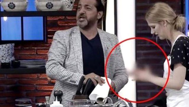 Masterchef'te yarışmacı Didem Devay parmaklarını kesti