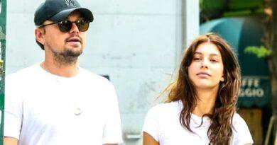 Amerikalı aktör Leonardo DiCaprio, genç sevgilisiyle tatilin tadını çıkarıyor
