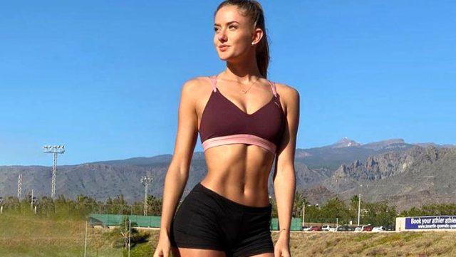 Borussia Dortmund'un yeni fitness antrenörü Alica Schmidt, cesur paylaşımlarıyla dikkat çekiyor