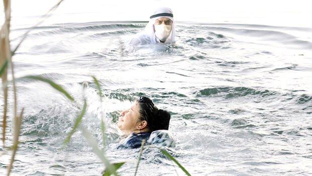 Aslı Omağ'ı kurtaran cesur turist