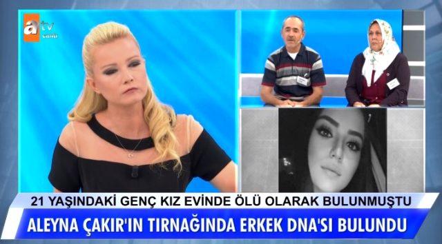 Müge Anlı canlı yayında açıkladı: Şüpheli şekilde ölen Aleyna Çakır'ın tırnak içlerin erkek DNA'sı bulundu