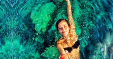 Oyuncu İpek Bağrıaçık su altı tutkunu çıktı! Enerji toplamak için yılda 2 ay dalış yapıyor