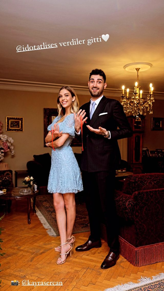 3 yıldır aşk yaşayan Yasemin Şefkatli ve İdo Tatlıses nişanlandı Magazin Sörvayvır 2020