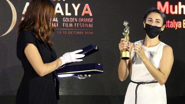 Altın Portakal'ın kazananları belli oldu! 5 ödül alan Hayaletler geceye damgasını vurdu