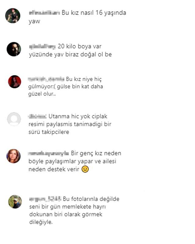 Defne Samyeli'nin 17 yaşındaki kızı Derin Talu'nun mini etekli pozu tepki çekti Magazin Sörvayvır 2020