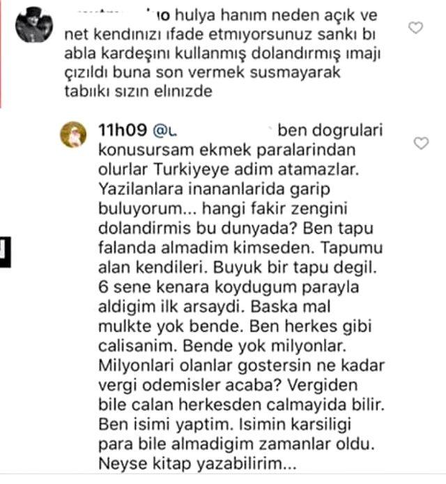 Hadise'nin ablası Hülya Açıkgöz'den gözdağı: Ben konuşursam Türkiye'ye adım atamaz Magazin Sörvayvır 2020
