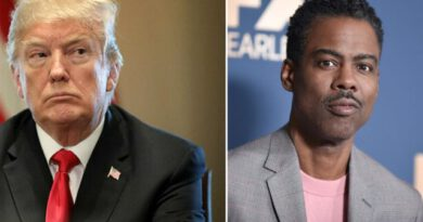 Komedyen Chris Rock'tan koronavirüse yakalanan Donald Trump'a beddua: Kalbim seninle kovid