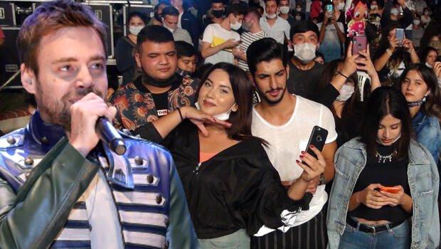 Şarkıcı Murat Dalkılıç'ın konserinde korona tedbirleri unutuldu Magazin Sörvayvır 2020