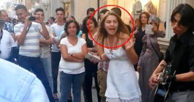 Sokakta şarkı söylediği görüntüler ortaya çıkan Aleyna Tilki ilk kez konuştu: Sokaktakileri geri çevirmemek lazım