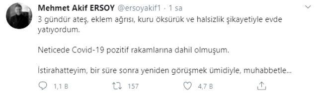 Sunucu Mehmet Akif Ersoy koronavirüse yakalandı Magazin Sörvayvır 2020