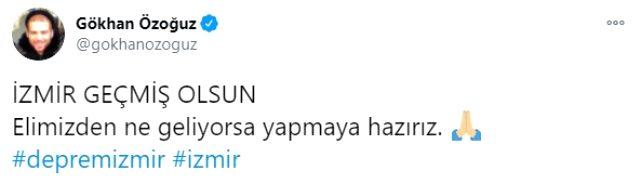 Ünlü isimler, Türkiye'yi ayağa kaldıran İzmir depreminin ardından sessiz kalamadı Magazin Sörvayvır 2020