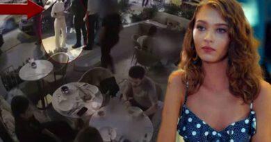 Ünlü oyuncu Melisa Döngel, arkadaşlarıyla gittiği kafeye alınmayınca olay çıkardı: Sizi bitireceğim