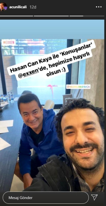 Acun Ilıcalı, Exxen'de program sunması için komedyen Hasan Can Kaya ile anlaştı Magazin Sörvayvır 2020