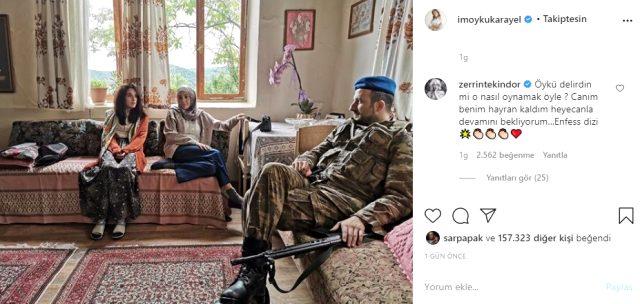 Bir Başkadır'ın başrol oyuncusu Öykü Karayel, performansıyla tam not aldı Magazin Sörvayvır 2020