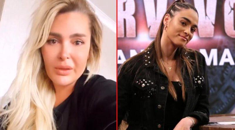 Eşi Gökhan Çıra'nın kendisini aldattığı ileri sürülen Melisa Emirbayer'e şiddet uyguladığı söylenen Selin Ciğerci gözyaşlarına boğuldu