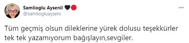 Menajerimi Ara dizisinin usta oyuncusu Ayşenil Şamlıoğlu, koronavirüse yakalandı Magazin Sörvayvır 2020