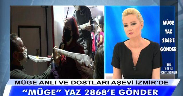 Müge Anlı, canlı yayında İzmir'deki depremzedeler için 3 milyon TL bağış topladı Magazin Sörvayvır 2020