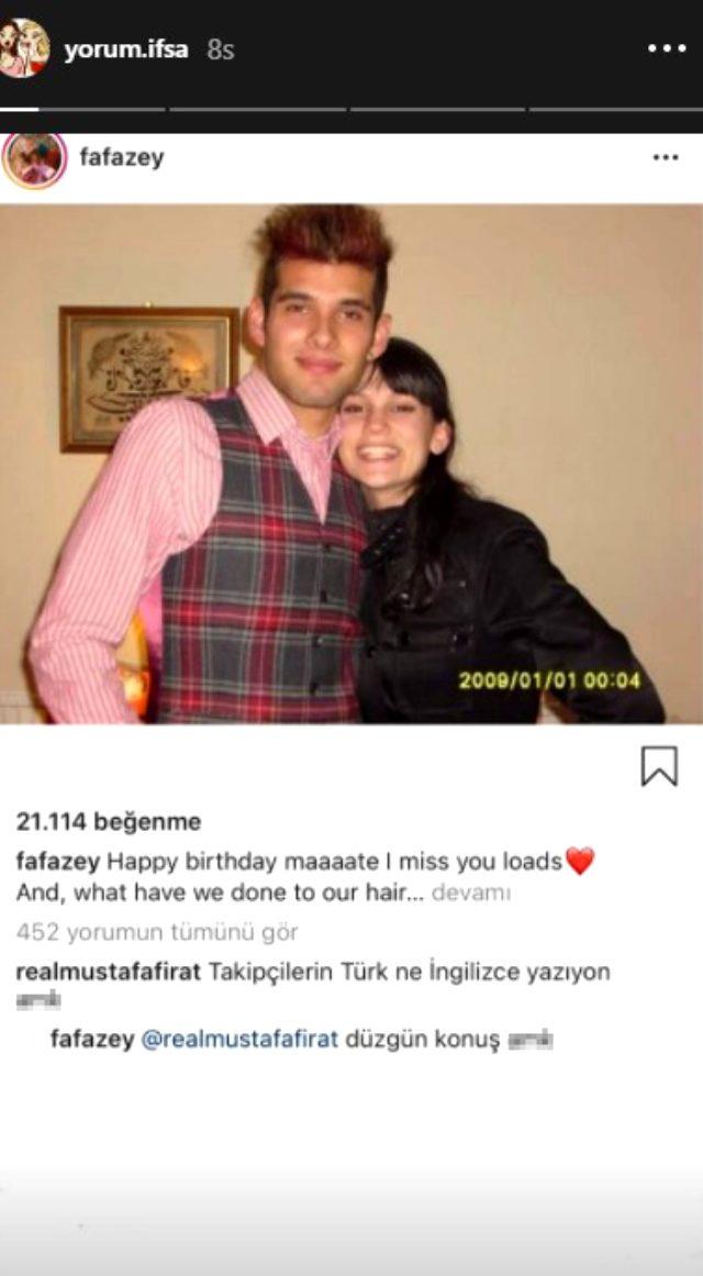 Oyuncu Farah Zeynep Abdullah, kendisine küfür eden takipçisine küfürle karşılık verdi Magazin Sörvayvır 2020