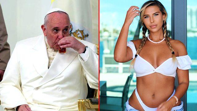 Papa Francis, sosyal medya hesabından dünyaca ünlü modele beğeni attı Magazin Sörvayvır 2020
