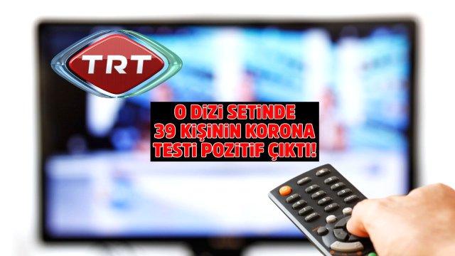 TRT'nin Gönül Dağı dizisinde 39 kişinin koronavirüs testi pozitif çıktı Magazin Sörvayvır 2020
