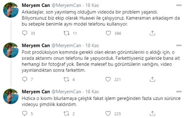 """YouTuber Meryem Can'ın çıplak fotoğrafı mı ifşa oldu? Takipçileri """"Ben değilim"""" açıklamasına inanmadı Magazin Sörvayvır 2020"""