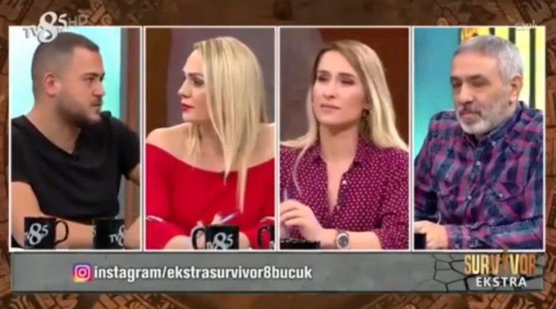 Nagihan Karadere ile Sema Aydemir, Canlı Yayında Birbirine Girdi Sörvayvır 2018 Sörvayvır 2019