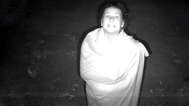 Sörvayvır Nisa'nın herkes uyurken kamera karşısında yaptığı mimikler herkesi güldürdü Sörvayvır 2020