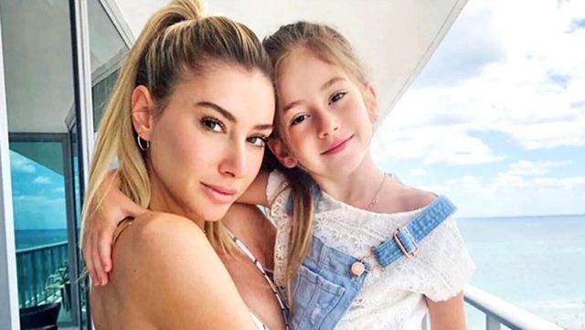 Şeyma Subaşı koronavirüs nedeniyle aylardır ayrı kaldığı kızı Melisa'ya kavuştu Sörvayvır 2020
