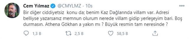 """Cem Yılmaz'ın """"Belediyeden 2754 TL aldım"""" sözlerine Ekrem İmamoğlu'ndan yanıt: Büyük oyunu bozduk Magazin Sörvayvır 2020"""