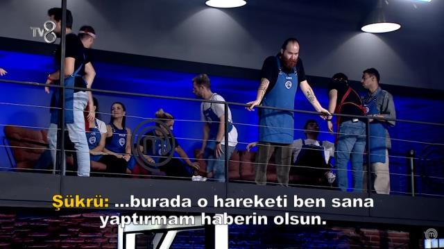 Master Şef Türkiye 'de ortalık karışıyor Sergen ve Şükrü birbirine giriyor Sörvayvır 2021